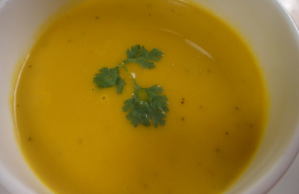 Iced Carrot and Orange Soup