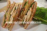Lebanese Club Sandwich