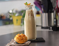 Mango Almond Butter Smoothie - SK Khazana