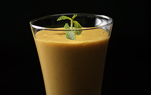 Mango Thandai Smoothie