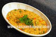 Masala Vegetable Khichdi