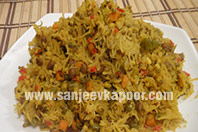 Mixed Sprouts Pulao