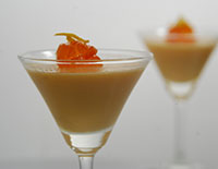 Orange Pannacotta-Cook Smart