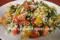 Orange and Broken Wheat Salad