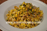 Peanut and Corn Bhel