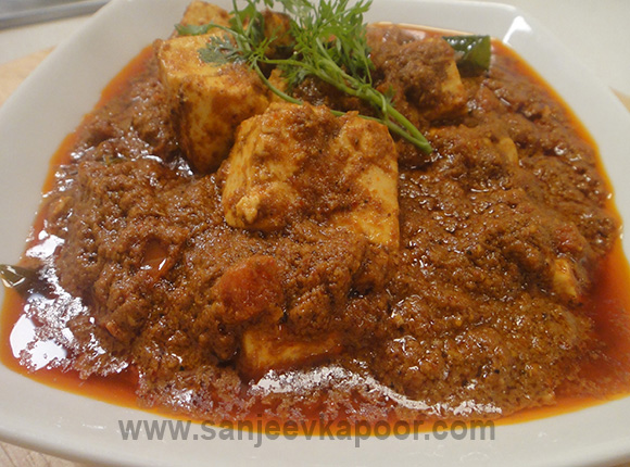 Pepper Paneer Chettinad