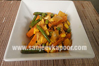 Quick Stir Fry Indian Style