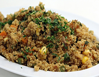 Quinoa and Vegetable Pulao-Cook Smart