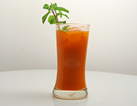 Refreshing Carrot Juice-Cook Smart