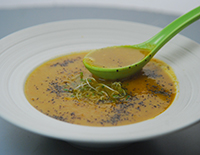 Roasted Carrot and Corn Soup - Cook Smart