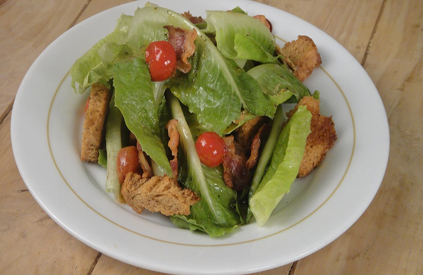 Romaine Bacon Tomato Salad