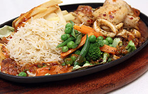 Seafood Sizzler