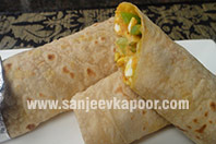 Smoky Paneer Wrap