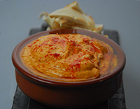 Spiced Red Pepper Hummus - Cook Smart