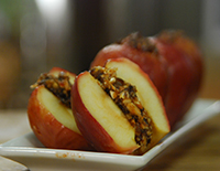 Spiced Stuffed Apples - Cook Smart