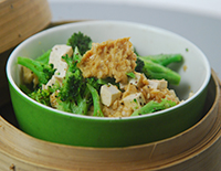 Steamed Tofu with Chicken Mince - Cook Smart