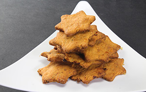 Sun-dried Tomatoes and Parmesan Crackers