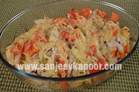 Swiss Chicken Cheese Strata