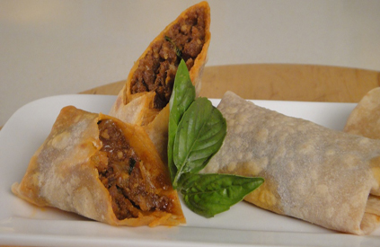 Thai Lamb Wraps