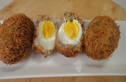 Vermicelli Egg Cutlet
