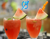 Water Melon Lemonade-Cook Smart